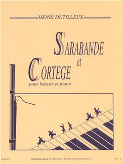 Henri Dutilleux: Sarabande Et Cortège For Basson And Piano