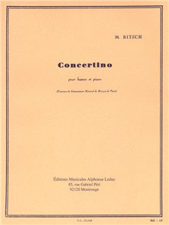 Marcel Bitsch: Concertino For Bassoon And Piano
