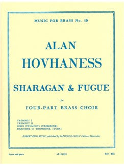 Alan Hovhaness: Sharagan & Fugue (Quartet-Brass)