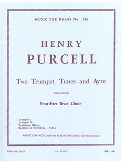 Henry Purcell: 2 Trumpet Tunes And Ayre (Quartet-Brass)