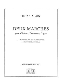 Jehan Ariste Alain: 2 Marches (Quartet-Mixed)