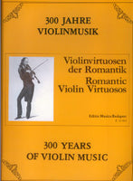 ROMANTIC VIOLIN VIRTUOSOS