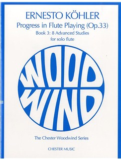 Kohler: Progress In Flute Playing Op.33 Book 3