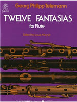 Georg Philipp Telemann: Twelve Fantasies For Solo Flute