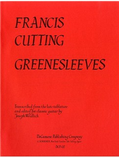 Francis Cutting: Greenesleeves Variations (Guitar)