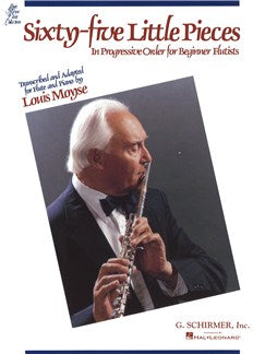 Sixty-Five Little Pieces For Beginner Flautists