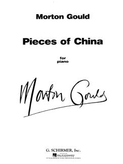 Morton Gould: Pieces Of China (For Piano)