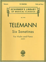 Georg Philipp Telemann: Six Sonatinas For Vioara And Piano