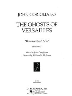 John Corigliano: Beaumarchais' Aria (From 'The Ghosts Of Versailles')