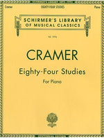 Johann Cramer: 84 Studies For Piano
