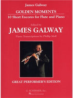Golden Moments - 10 Short Encores For Flute And Piano
