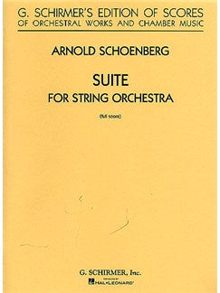 Arnold Schoenberg: Suite For String Orchestra (Partitura)