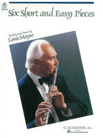 Louis Moyse: Six Short And Easy Pieces For Flute And Piano Op.44