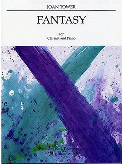 Joan Tower: Fantasy For Clarinet And Piano