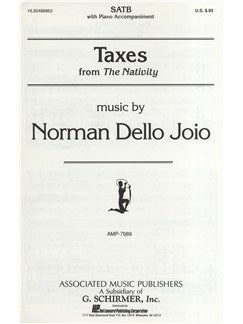 Norman Dello Joio: Taxes (Nativity)