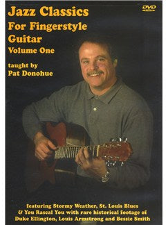 Jazz Classics For Fingerstyle Guitar - Volume 1