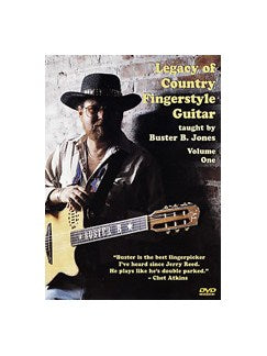 Buster Jones: Legacy Of Country Fingerstyle Guitar Volume One