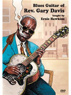 Blues Guitar of Rev. Gary Davis: Double DVD