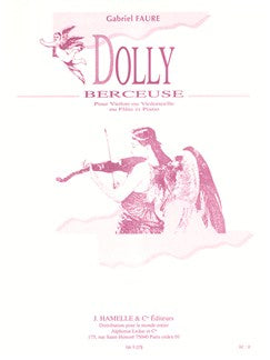 Berceuse From Dolly Op 56 No 1 Vln/Pno