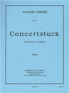 Gabriel Pierné: Concertstück For Harp And Orchestra Op.39 (Harp Part)