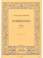 Charles-Marie Widor: Symphonie For Organ No.6 Op.42 No.2