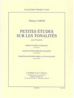 Thierry Caens: Short Studies In The Keys