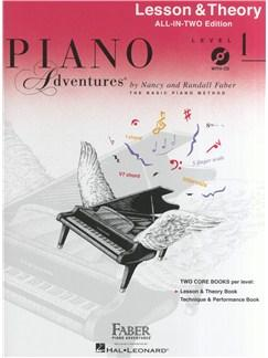 Piano Adventures®: Lesson And Theory Book - Level 1 (Book/CD)