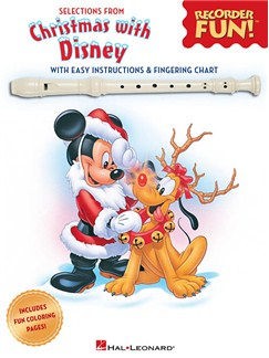 Selections From Recorder Fun!®: Christmas With Disney