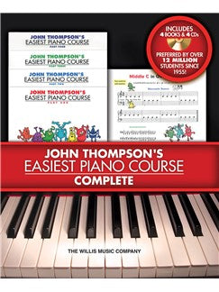 Book//CD Pack John Thompson/'s Easiest Piano Course Part 1