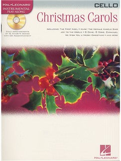 Hal Leonard Instrumental Play-Along: Christmas Carols (Cello)