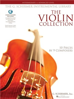The Violin Collection: Intermediate To Advanced Level (Book/Online Audio)