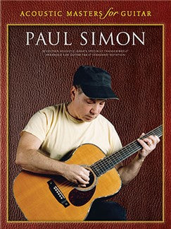 Acoustic Masters For Guitar: Paul Simon