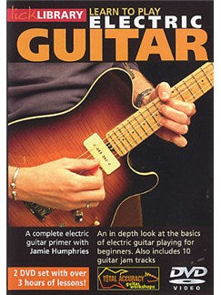 Lick Library: Learn To Play Electric Guitar (2DVD)