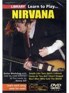 Lick Library: Learn To Play Nirvana