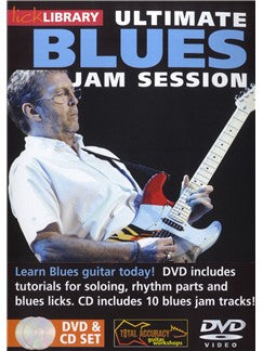 Lick Library: Ultimate Blues Jam Session Volume 1
