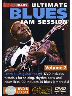 Lick Library: Ultimate Blues Jam Session Volume 2