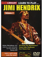 Lick Library: Learn To Play Jimi Hendrix Volume 2