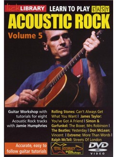 Lick Library: Learn To Play Easy Acoustic Rock - Volume 5