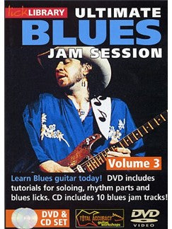 Lick Library: Ultimate Blues Jam Session Volume 3
