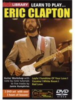 Lick Library: Learn To Play Eric Clapton