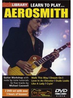 Lick Library: Learn To Play Aerosmith