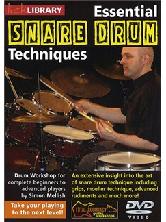 Lick Library: Essential Snare Drum Techniques