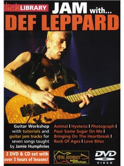 Lick Library: Jam With Def Leppard