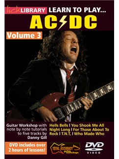 Lick Library: Learn To Play AC/DC - Volume 3