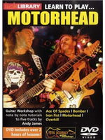 Lick Library: Learn To Play Motorhead