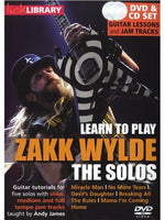 Lick Library: Learn To Play Zakk Wylde - The Solos