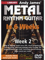 Lick Library: Andy James' Metal Rhythm Guitar In 6 Weeks - Week 2