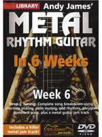 Lick Library: Andy James' Metal Rhythm Guitar In 6 Weeks - Week 6