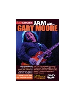 Lick Library: Jam With Gary Moore (CD And 2 x DVD)