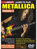 Lick Library: Learn To Play Metallica Volume 3
